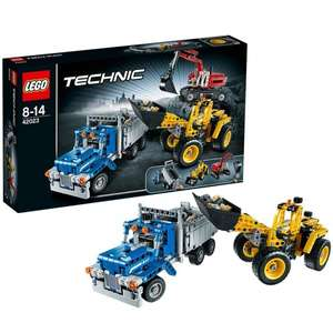 Lego™ - Technic: Baustellen-Set (42023) ab €39.- [@Real.de]