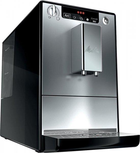 Melitta Caffeo Solo E 950-103 Silber-Schwarz Kaffeevollautomat inkl. gratis Milchaufschäumer für 279€ @Saturn.de