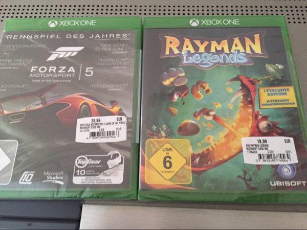 MM München Pasing Forza 5 und Rayman Legends