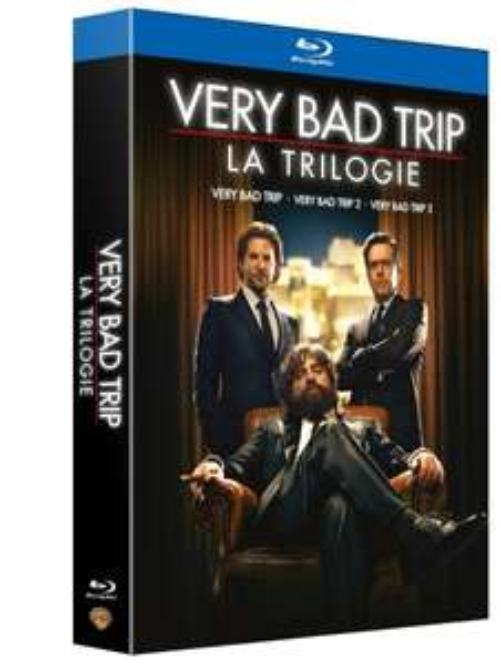 Hangover Trilogie (Very Bad Trip - Coffret Trilogie) [Blu-ray] inkl. Vsk für 13,90 € > [amazon.fr]
