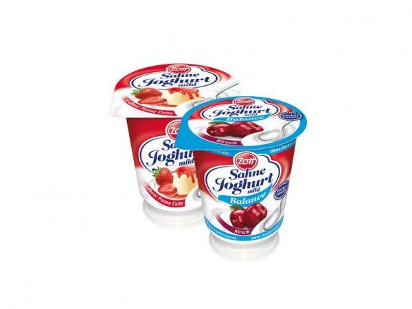 LIDL Bundesweit - Zott Sahnejoghurt mild ab 08.01.2015 40% günstiger