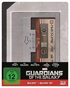 Guardians of the Galaxy 3D+2D Steelbook [Blu-ray] für 23€ @Weltbild