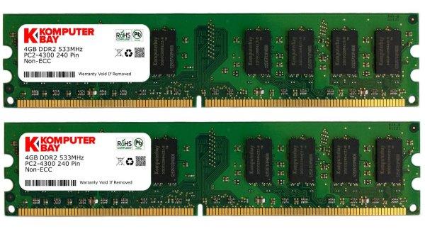 [WHD]Komputerbay 8GB 2X4GB DDR2