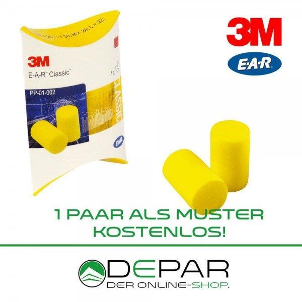 [EBAY] 1 Paar 3M E-A-R Classic II - Gehörschutzstöpsel - Ohrschutz -MUSTER- KOSTENLOS