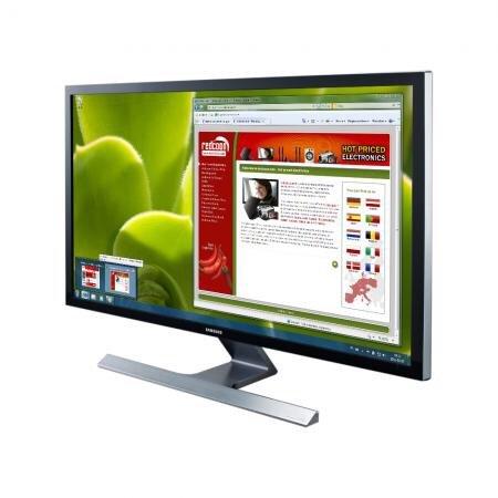 ab 07:00 Uhr : Samsung U28D590D 71,12 cm (28 Zoll) LCD-Monitor (HDMI, 1ms Reaktionszeit, 3840x2160), schwarz/silber @redcoon.de
