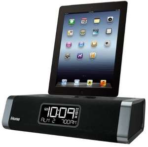 [Amazon] SDI iDL45BE iHome Stereo Dual Lightning Weckuhr/Ladestation (FM-Radio, USB) für Apple iPhone/iPad/iPod