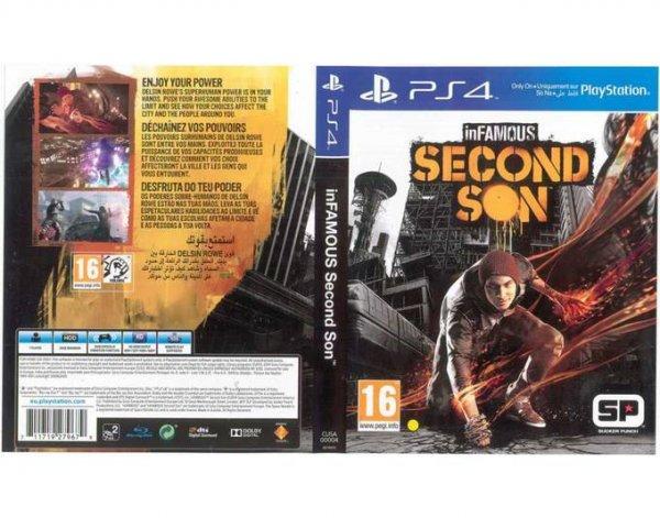 Infamous Second Son (PS4) für 24,90€ @MeinPaket (3 Euro Gutschein)