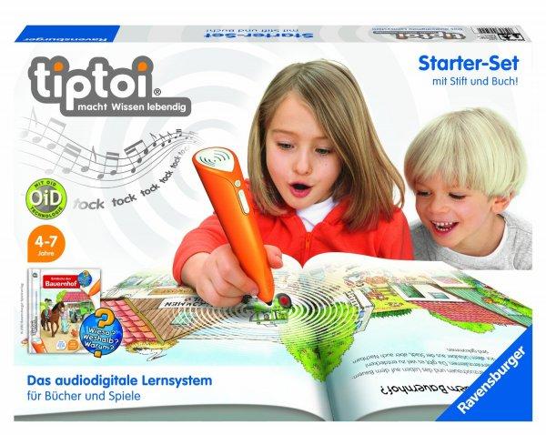[Amazon] tiptoi Starter-Set mit Stift und Buch für 31,47 €