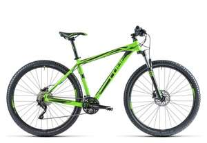 MTB Hardtail Cube Attention SL 29 green´n´black bei Bike Discount (Idealo 669€)