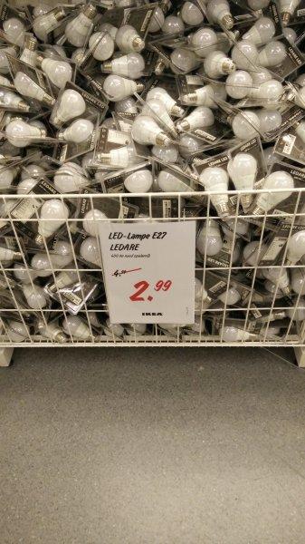 Ikea Ludwigsburg: LED Birne Ledare 2,99 E27 400lm