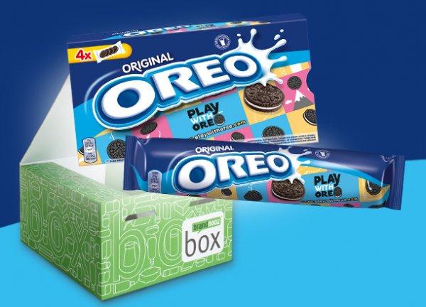 Brandnooz Oreo Box für 14,99€ / Warenwert 20€ + Extras - einmalige Lieferung, kein Abo