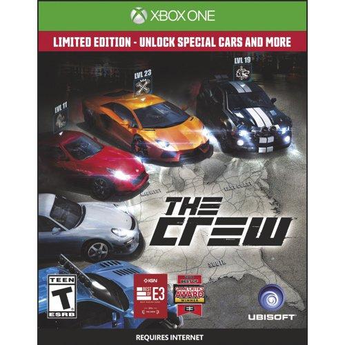 The Crew - D1 Limited Edition (Xbox One) @Meinpaket.de mit 5Sparen für 45,50 €
