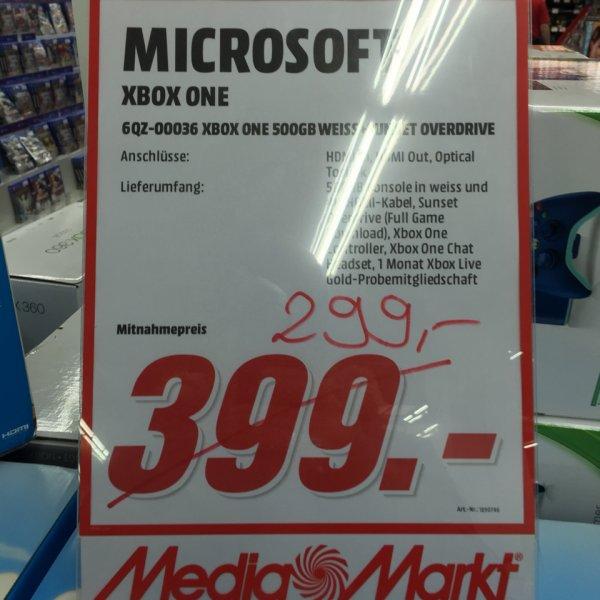 Xbox one + Sunset Overdrive MM Bochum(evtl. Bundesweit)
