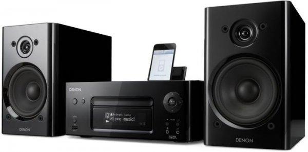 Denon CEOL noir Netzwerk Kompaktanlage (CD, Internetradio, DLNA, AirPlay, iPod-Dock, UKW, App Steuerung) schwarz inkl. Vsk für 319  € > [ebay.de] > deltatecc