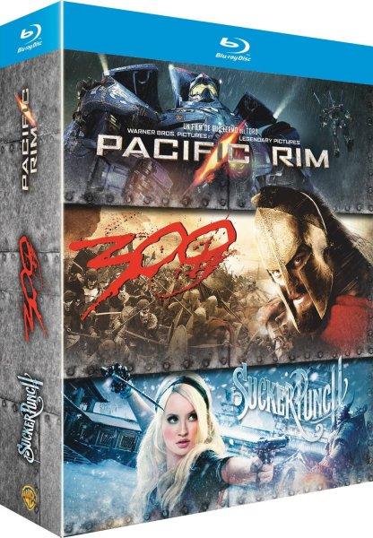 Pacific Rim + Sucker Punch + 300 [Blu-ray + UV Copy] für 13,85€ @Amazon.fr
