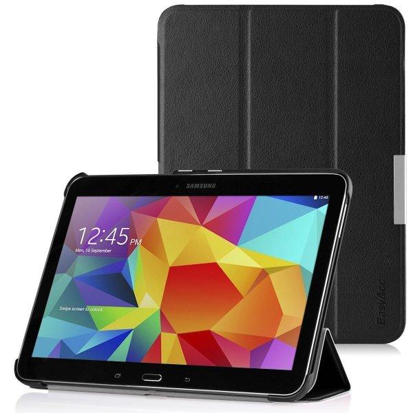 EasyAcc Samsung Galaxy Tab 4 10.1 Hülle - Schwarz, Kunstleder € 10.49