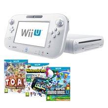 Nintendo Wii U Basic inkl. Captain Toad Treasure Tracker, Super Mario Bros U und Nintendoland für 250,68€ @shopto.net