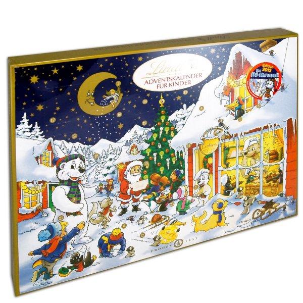 [LOKAL METRO NÜRNBERG] Für alle, die immer noch nicht genug haben: 280 g Lindt Adventskalender und 50 g Weihnachtsmänner ab 0,29 €