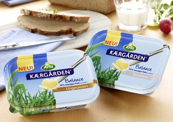 [CITTI] Arla Kærgården versch. Sorten 250g (Gesalzen/Ungesalzen) für 0,48€ (Angebot+Coupon) bis 14.01.2015