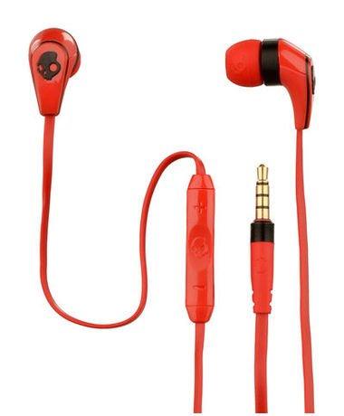 Skullcandy - Rote In-Ear Kopfhörer 50/50 - Anrufannahme-Funktion