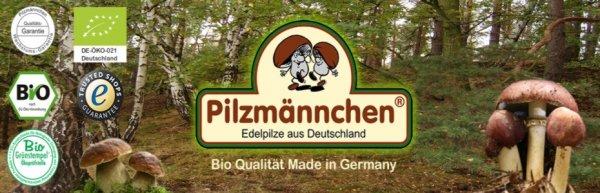 Bio XXL Champignon Pilzzucht Set - pilzmaennchen.de für 15,50 EUR + 5 EUR Neukundengutschein bei 30,00 EUR Bestellwert