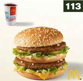 1 Big Mac + 0,4 l Softdrink bei McDonald's (ab 12.01.2015)