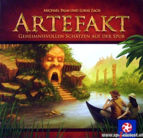 Artefakt (Brettspiel) für 8,50€ (für Neukunden 3,50€) bei Spiele-Offensive.de
