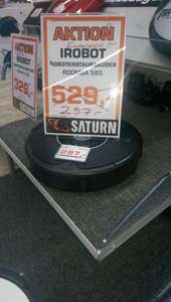 Saturn, Lokal Roomba 585 Staubsauger Roboter