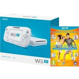 Wii U Konsole: 8GB Basic Pack - weiß (enthält 'Your Shape Fitness Evolved 2013') ((( zavvi.de )))