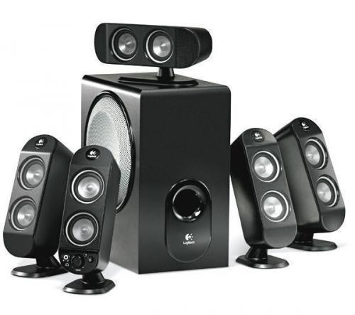 Logitech X-530 - 5.1 Lautsprechersystem - Neuware + gratis Ultimate Ears 100 + gratis Versand  @ Logitech Store