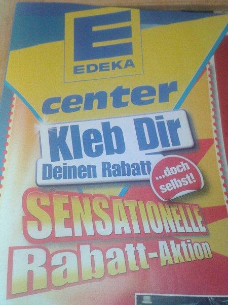 [E-Center : Dessau-Roßlau] Kleb dir deinen Rabatt ... doch selbst! AKTION 5% oder 10% (bundesweit?)