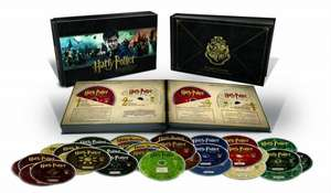 Harry Potter Hogwarts Collection [Blu Ray] mit 31 Discs inkl. Vsk für 58,18 € > [amazon.fr]