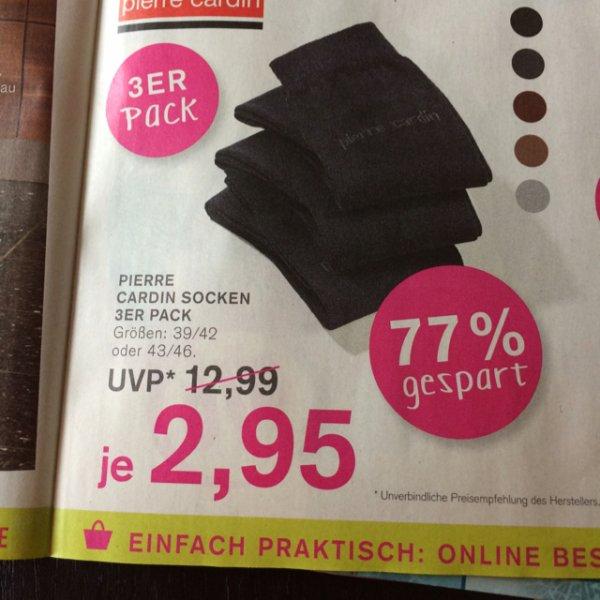 KODI: Socken Dreierpack pierre cardin