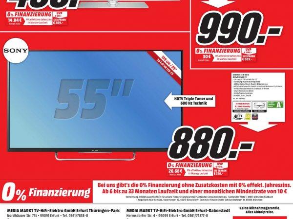 [Lokal-Media Markt Erfurt] Sony KDL 55w815b