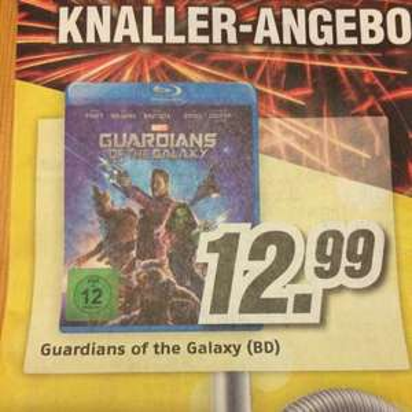 Guardians of the Galaxy Bluray 12,99€ @Medimax (bundesweit)