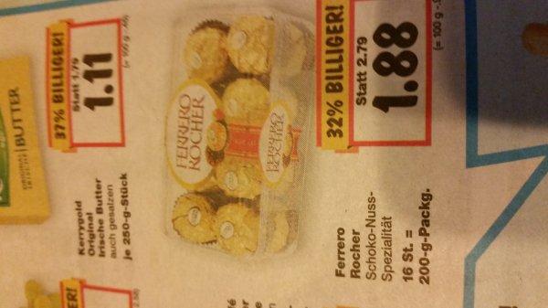 (Lokal?)Ferrero Rocher 200g für 1.88€ ab 15.01 im Kaufland Bückeburg