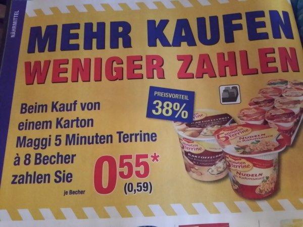 [Offline Bundesweit] 8 Becher Maggi 5 Minuten Terrine Verschiedene Sorten 4,72 Euro @Metro