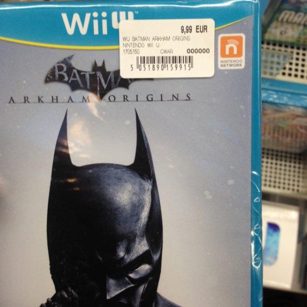 [lokal]Batman Arkham Origins WiiU 9,99€ - Mediamarkt Potsdam