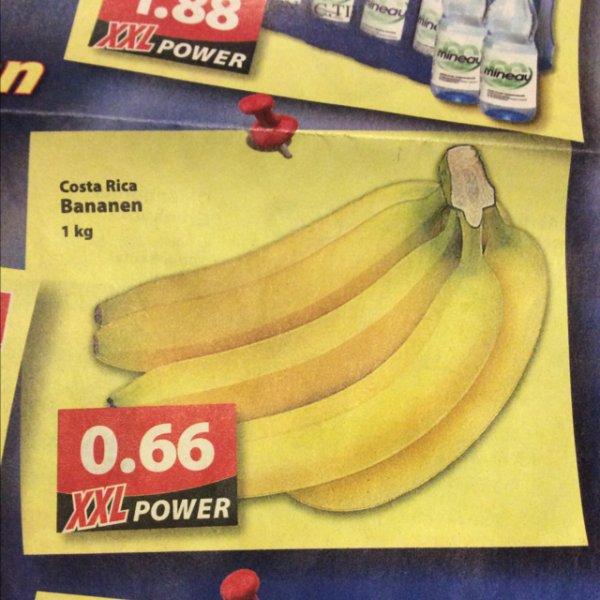 [Oldenburg] Famila XXL Bananen Costa Rica 1Kg 0,66€