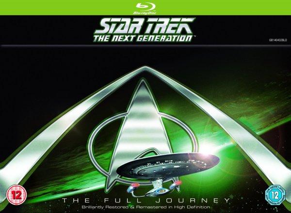 Star Trek: The Next Generation - Komplette Serie (41 Discs) Staffeln 1-7 [Blu-ray] inkl. Vsk für ~ 155 € > [amazon.uk]