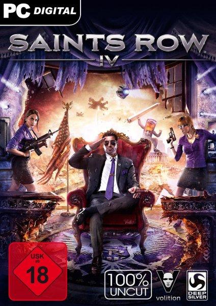 Saints Row IV inkl. GAT V Pack DLC [Bundle] Steamcode für 2,99€ bei amazon.de