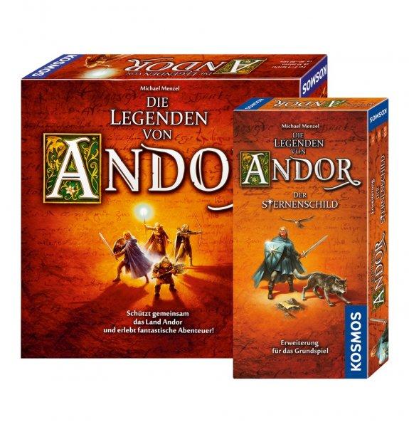 [Galeria Kaufhof] Die Legenden von Andor plus Sternenschild Erweiterung für 30,94 bzw. 27 (ab 49 Euro versandkostenfrei)