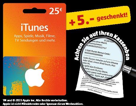 [Penny] iTunes Rabatt Aktion