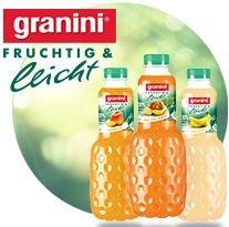 [WIGLO NI/ST/MV] 12x Granini Fruchtig & Leicht (Multivitamin/Pfirsich) mit 0,02€ Gewinn (Angebot+Scondoo) bis 17.01.2015 [LIMITIERT: 12 Flaschen pro Account]