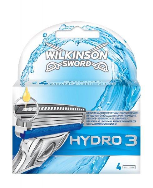 Wilkinson Sword Hydro 3 Klingen (4 Stück) für 3,99€ @ Amazon.de -> Prime