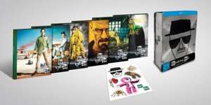 Breaking Bad - Tin Box Limited Edition Blu Ray für 82,97€ inkl. Versand