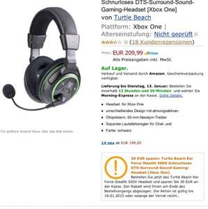 Turtle Beach Ear Force Stealth 500X Xbox One 7.1 Headset für 179,99€