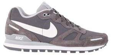 Nike Sneaker Air Waffle Trainer Leder grau