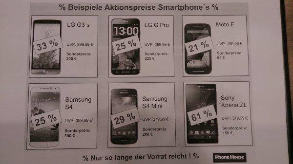 Sale/Räumungsverkauf bei The Phone House
