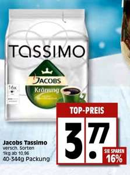 [lokal edeka] Tassimo Jacobs